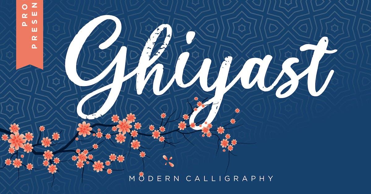 Download Ghiyast Modern Calligraphy by RahardiCreative