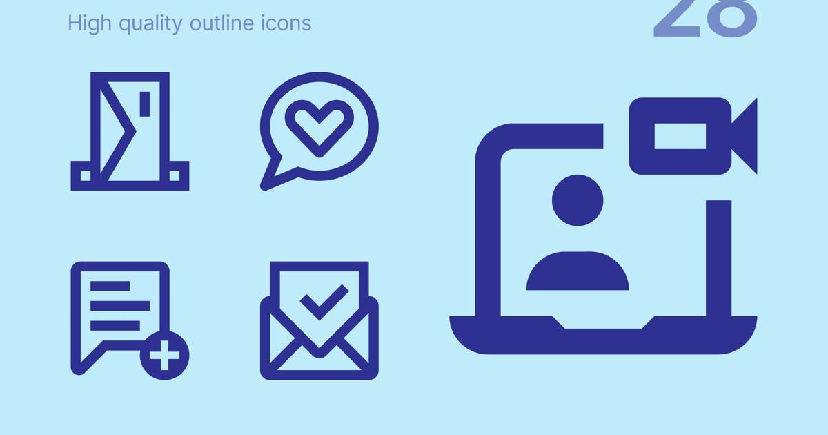 Download Communication icons by polshindanil