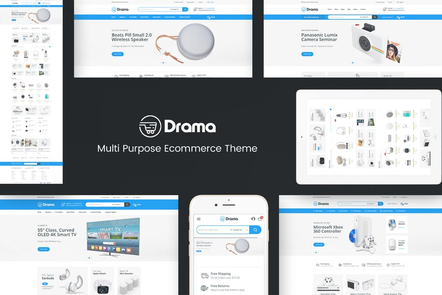 Drama - Responsive Prestashop Theme - product preview 0