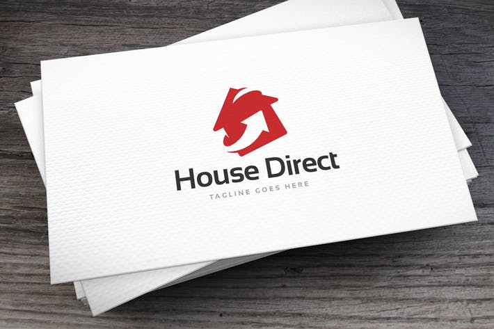 Thumbnail for House Direct Logo Template