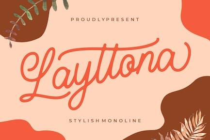 Layttona Elegante Monoline