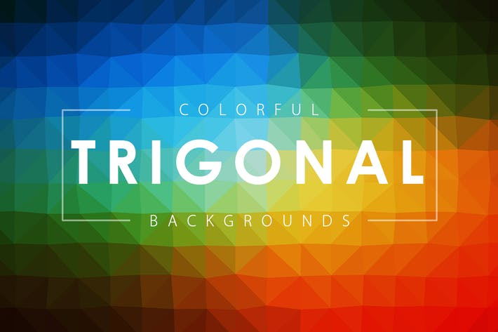 Thumbnail for Colorful Trigonal Backgrounds