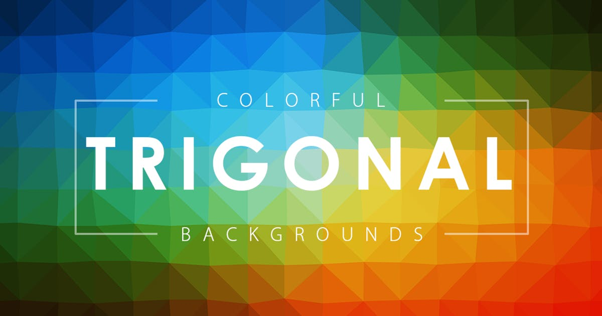 Download Colorful Trigonal Backgrounds by M-e-f
