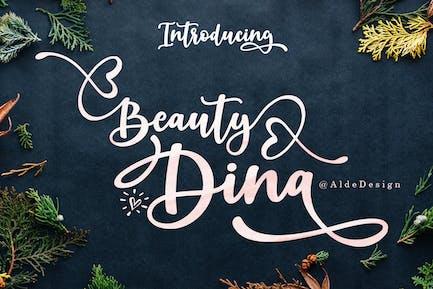 Belleza Dina | Hermoso Guión Pincel