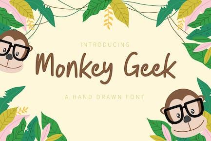Monkey Geek – Fun Handwriting Font