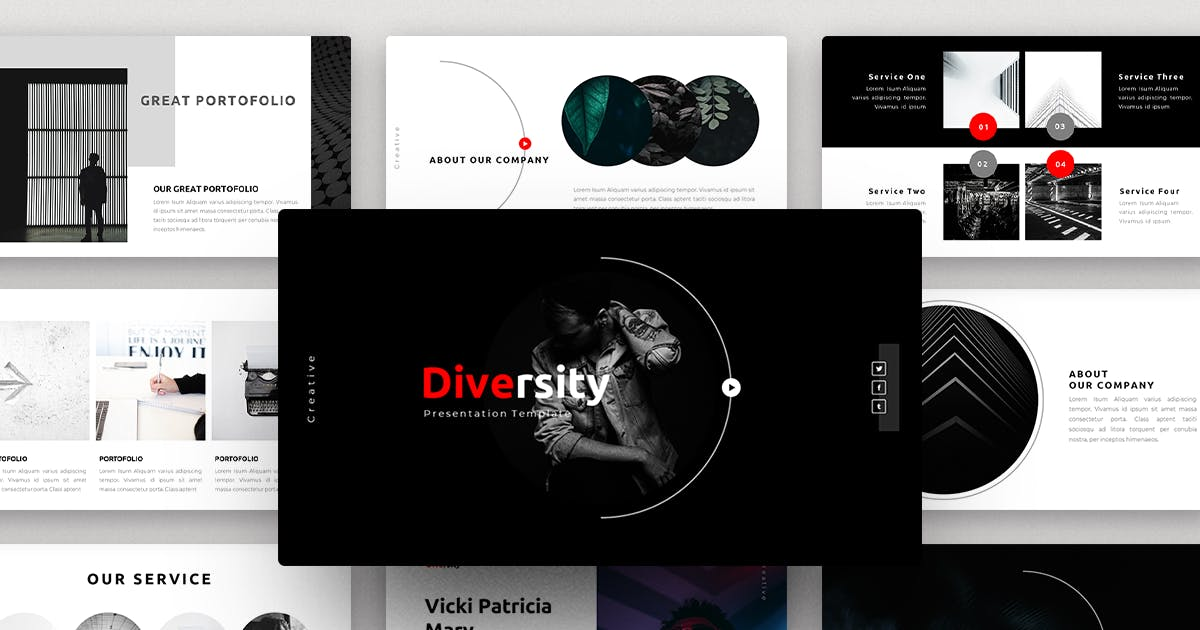 Download Diversity-Creative PowerPoint Template by yossy1