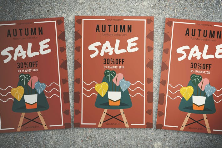Thumbnail for Autumn Furniture Sale Flyer