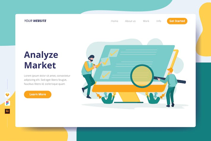 Thumbnail for Analyze Market - Landing Page