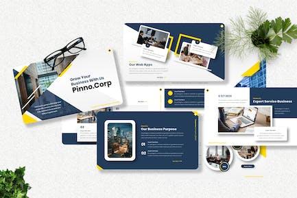 Pinno - Corporate Keynote Templates
