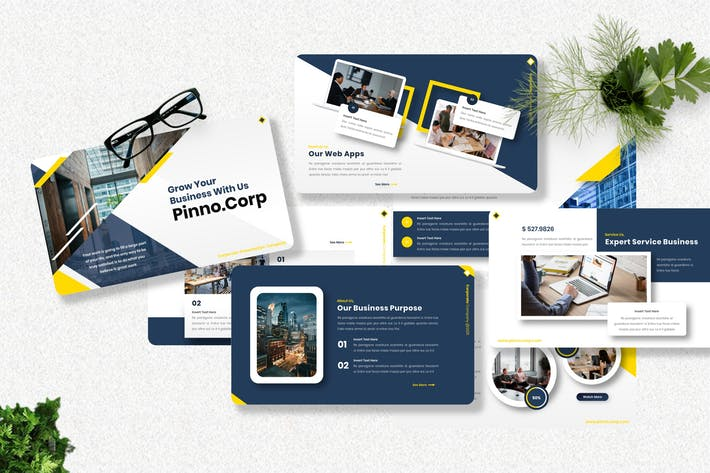 Pinno - Corporate Keynote Templates