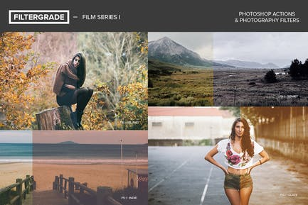 FilterGrade Film Series I Photoshop Actions
