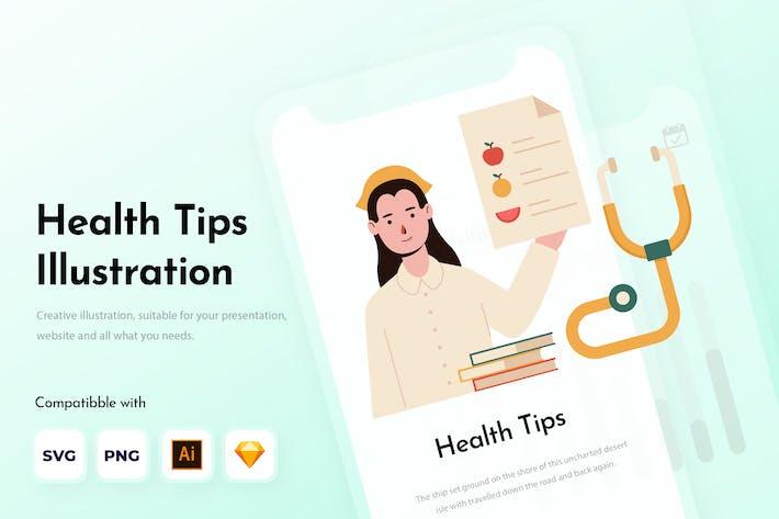 Thumbnail for Советы по здоровью