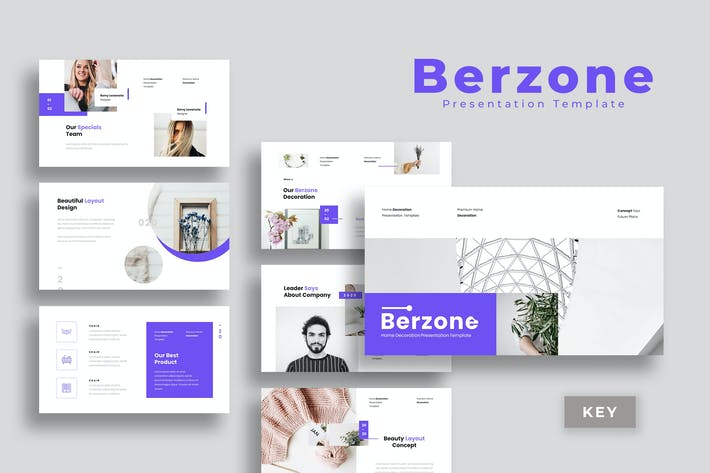 Berzone - Keynote Presentation Template