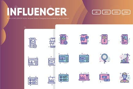 Influencer Icon Pack