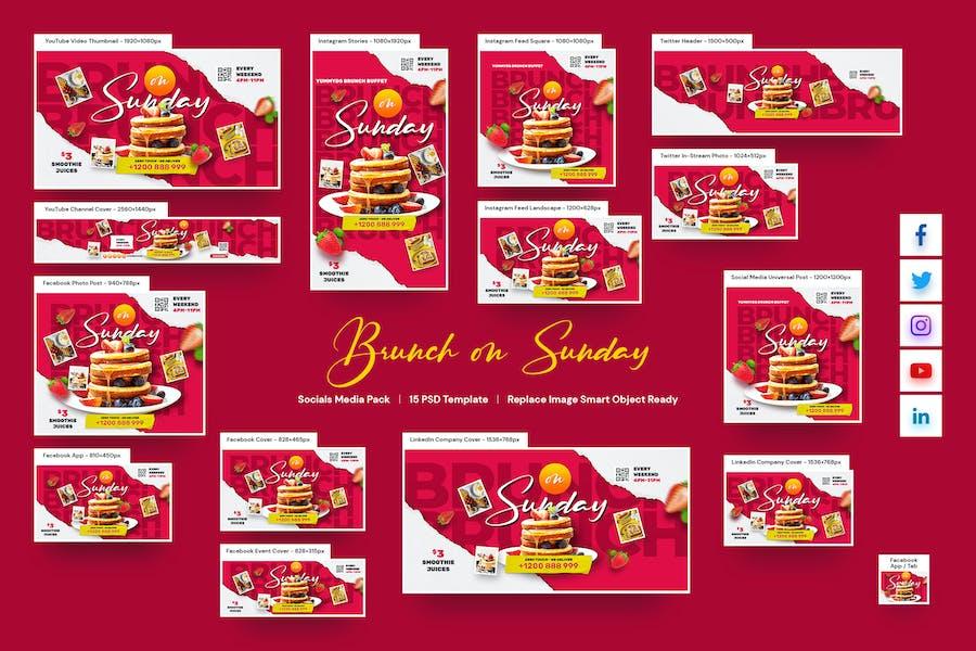 Brunch Social Pack