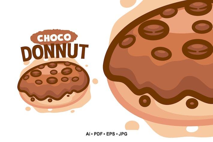 Thumbnail for Chocolate Donuts 2 Cartoon logo