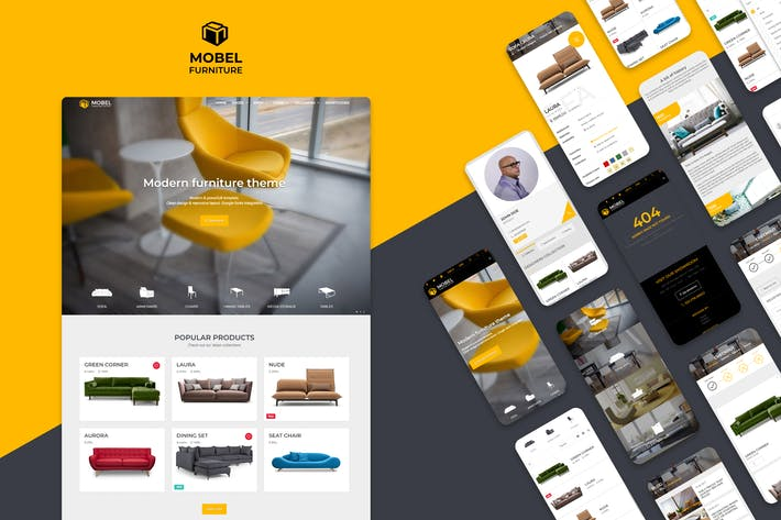 Mobel - Furniture HTML Template