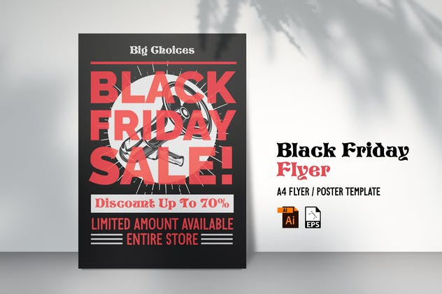 Black Friday Flyer Design Vol. 01