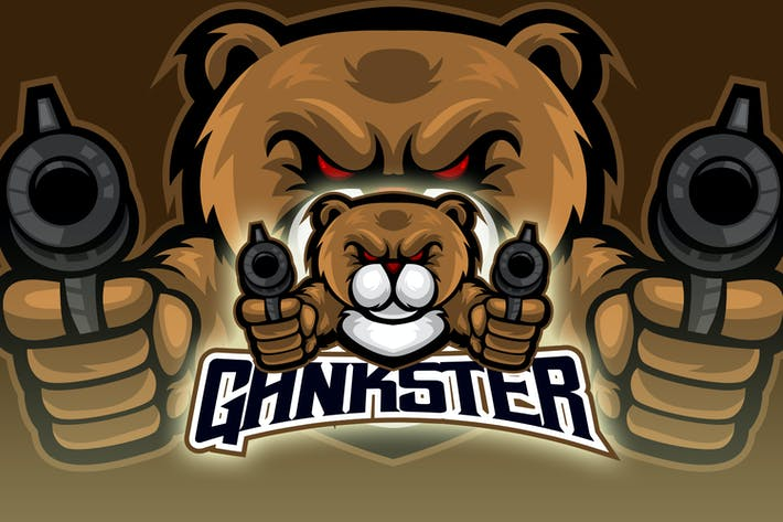 Thumbnail for Little Bear Shooting Esport Logo