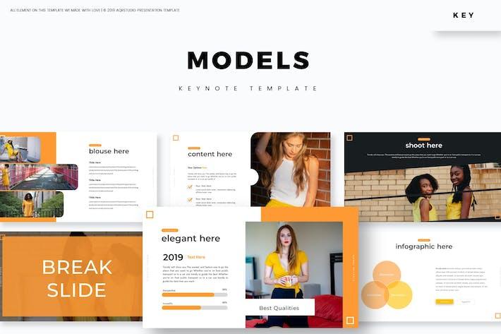 Models - Keynote Template