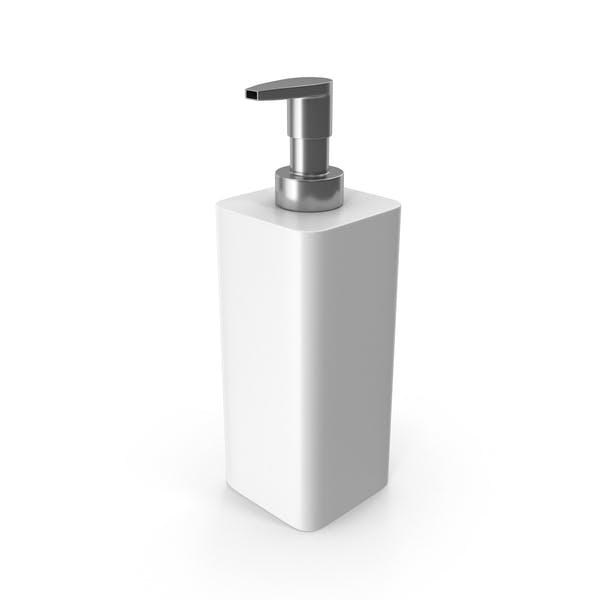 Диспенсер для мыла Белый
