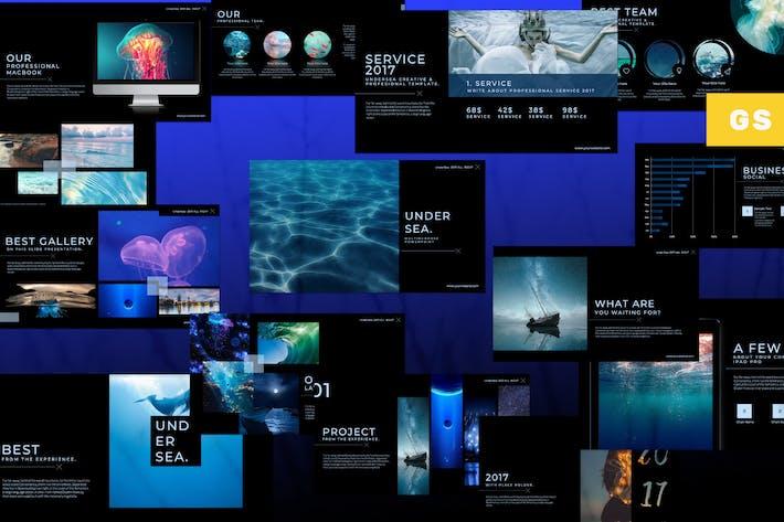 Thumbnail for Under Sea Google Slide