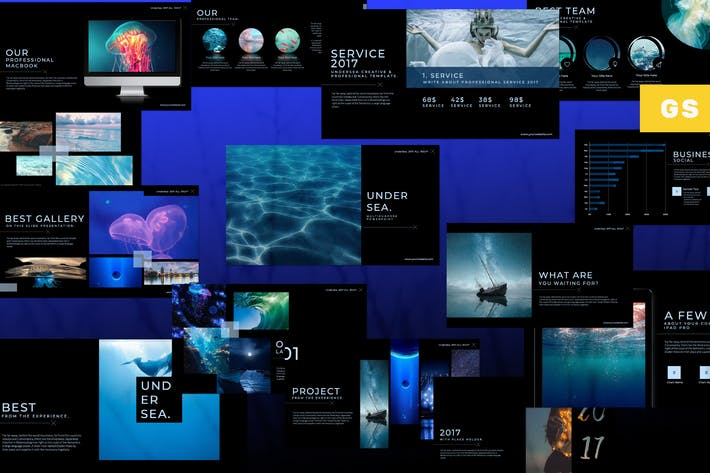 Thumbnail for Под Морской Google Слайд
