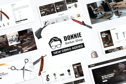 Donnie | Салон, парикмахерская Shopify Тема
