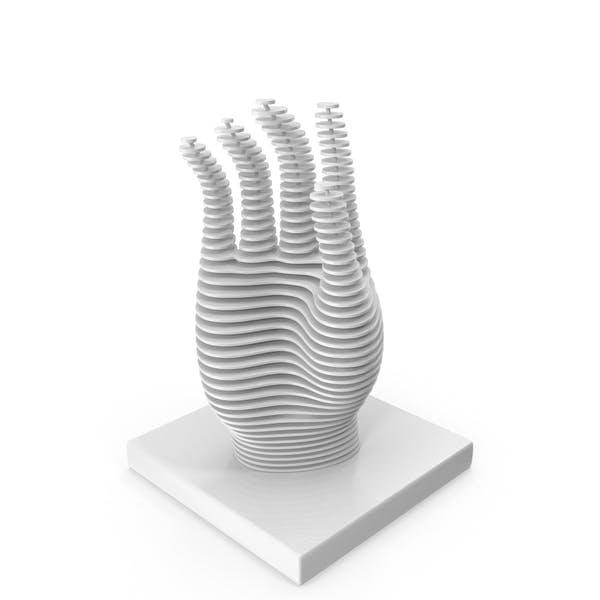 Thumbnail for Parametric Hand Figurine