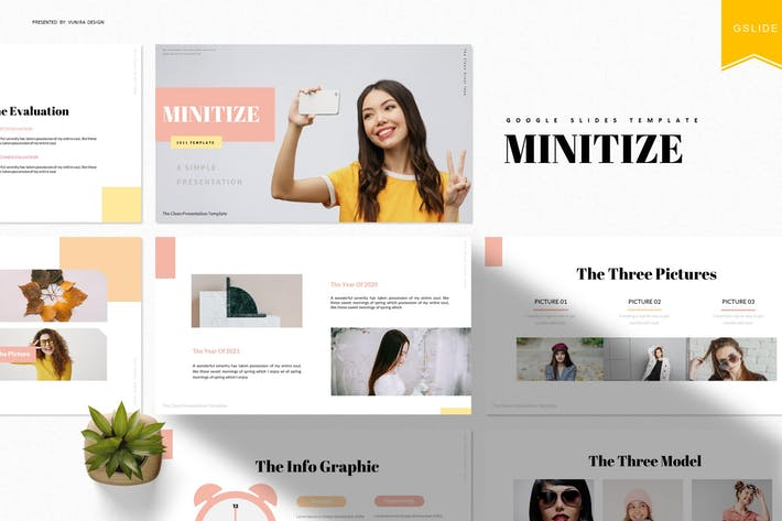 Minitize | Google Slides Template