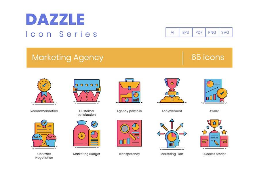 Icons der MarketingAgentur