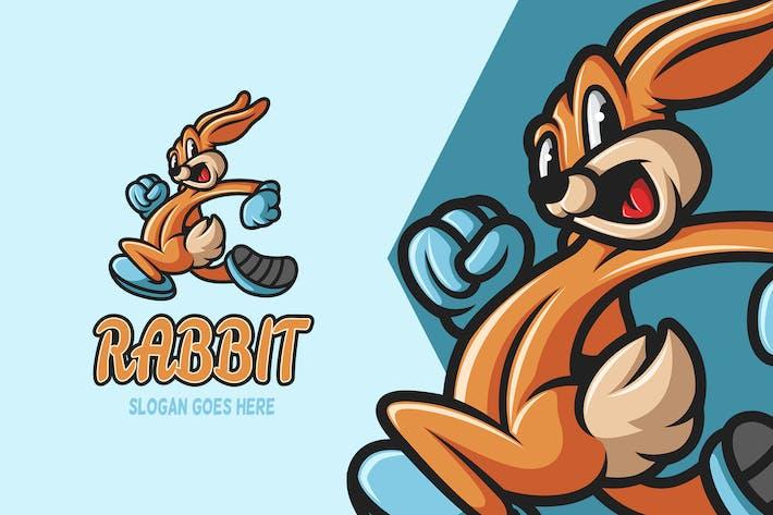 Rabbit - Mascot Logo
