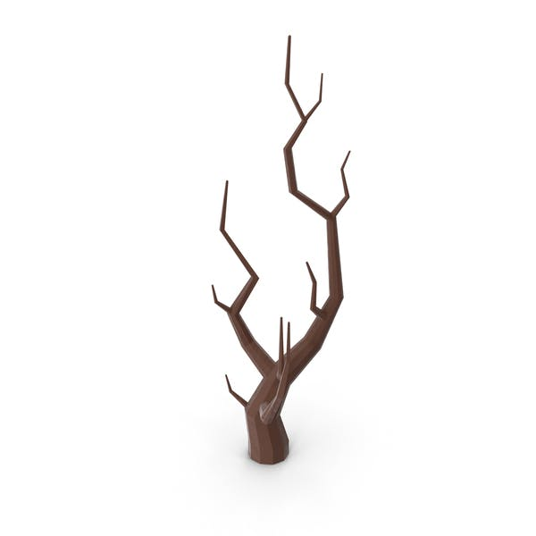 Low Poly Bare Tree