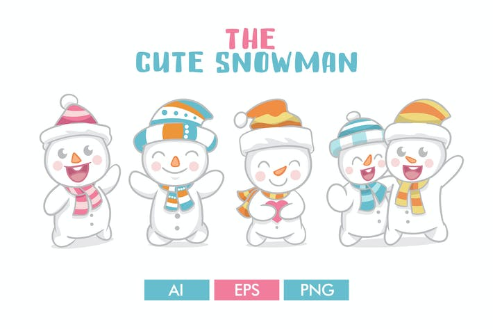 Thumbnail for The Cute Snowman
