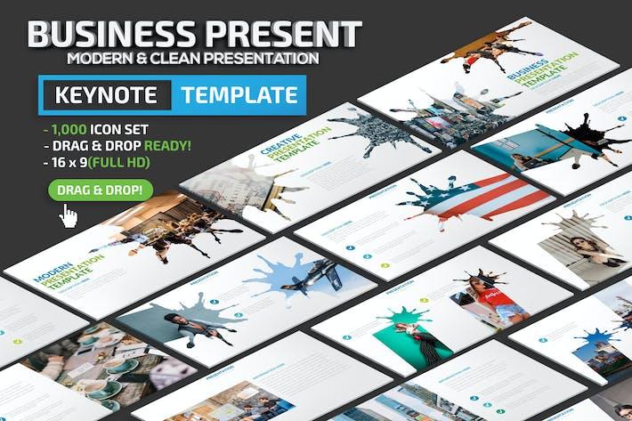 Thumbnail for Business Keynote Presentation