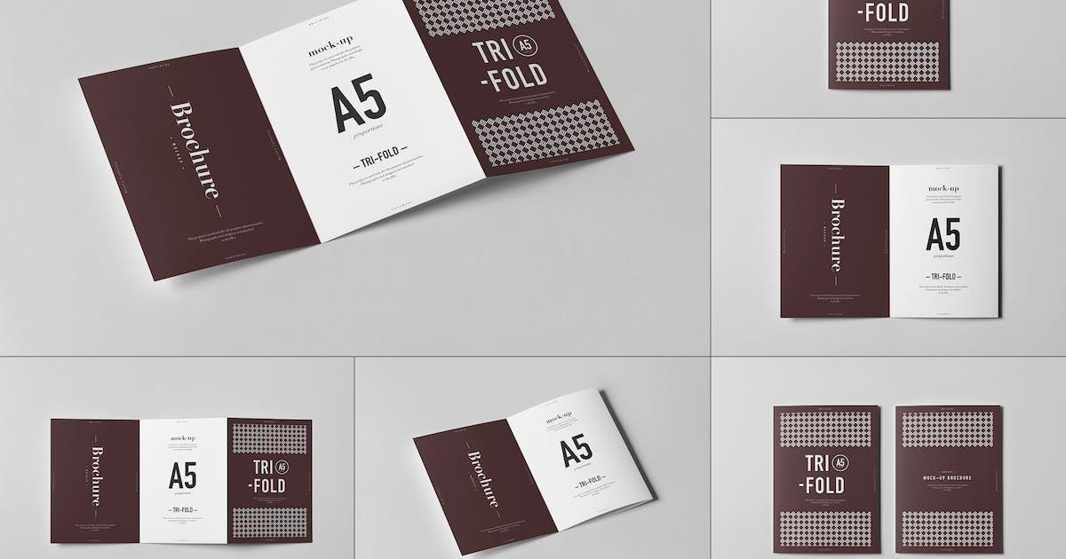 Download Tri-Fold A5 Brochure Mock-up 2 by yogurt86
