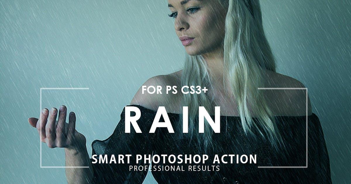 Download Rain Photoshop Action by M-e-f