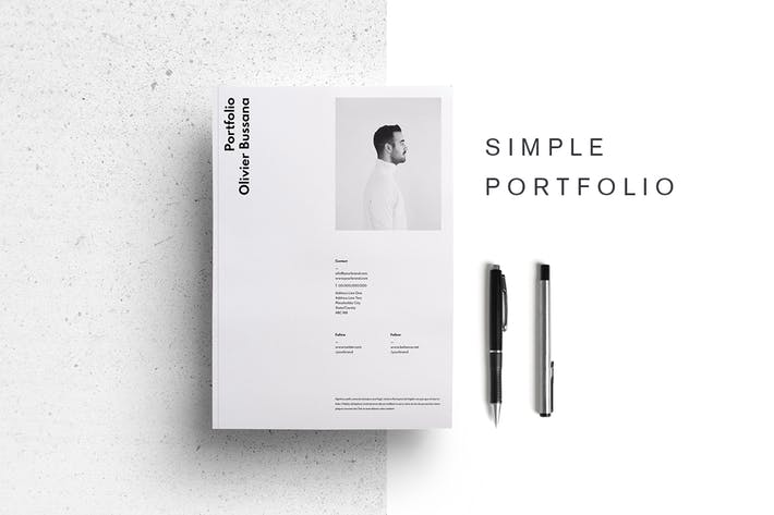Thumbnail for Simple Portfolio Template