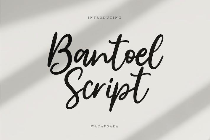 Thumbnail for Bantoel Script