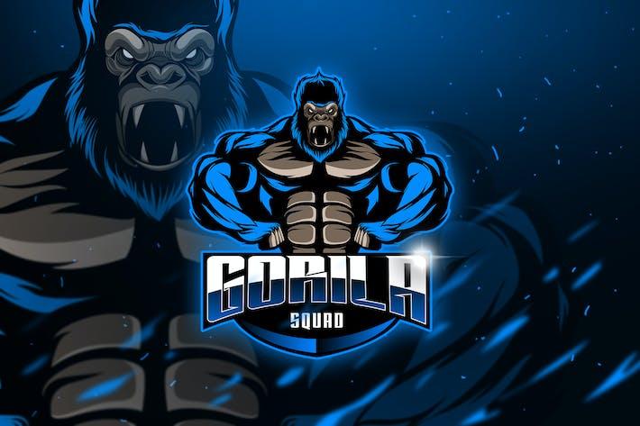 Thumbnail for Gorilas Squad - Mascot & Esport Logo