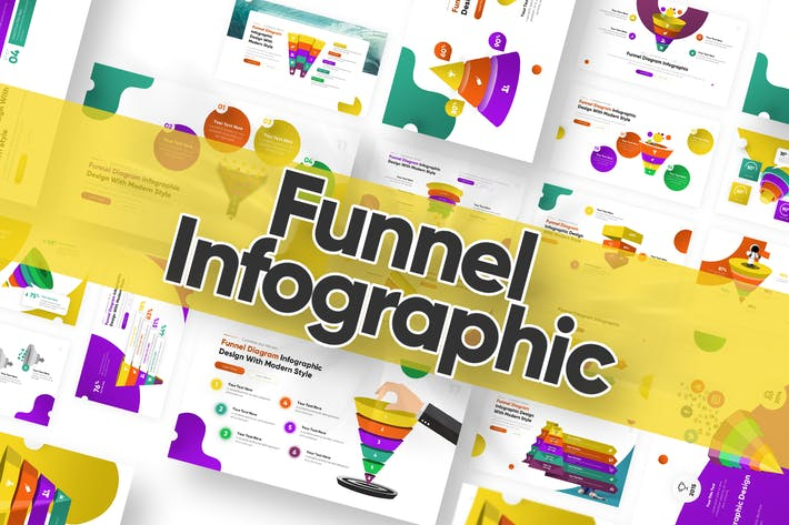 Thumbnail for Funnel Infographic Powerpoint Template