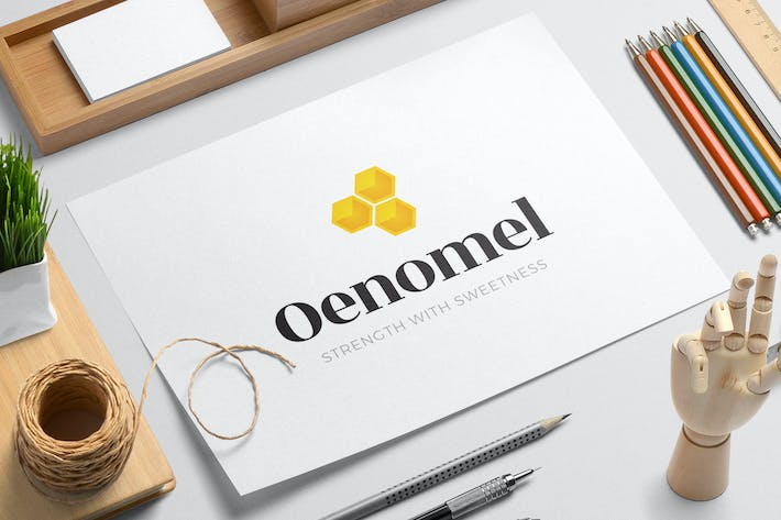 Thumbnail for Oenomel logo template