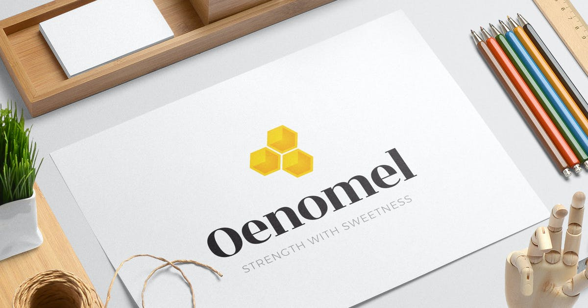 Download Oenomel logo template by duelofdoves