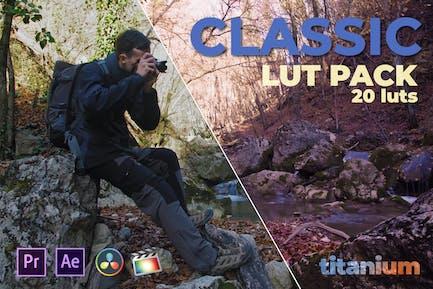Titanium Classic LUT Pack (20 Luts)