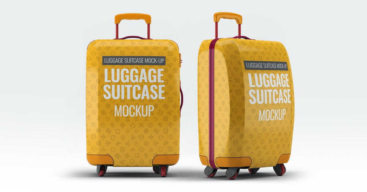 Download Luggage Suitcase Mock-up by L5Design