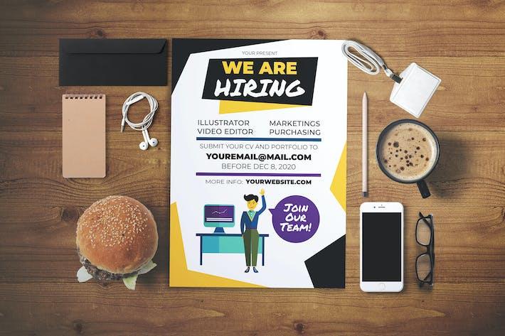 Thumbnail for Job Vacancy Flyer