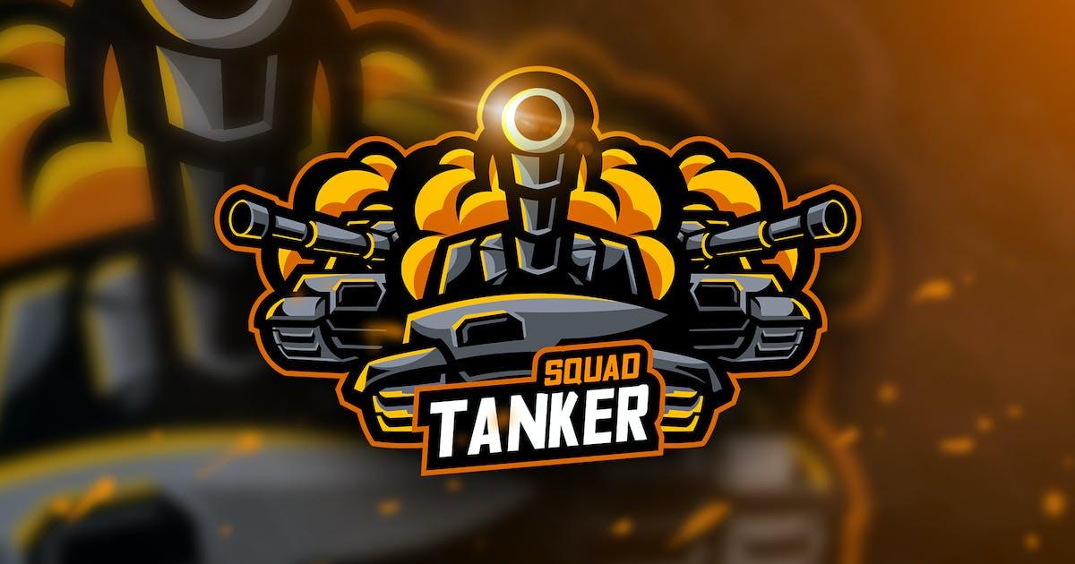 Tanker Squad - Mascot & Esport Logo by aqrstudio