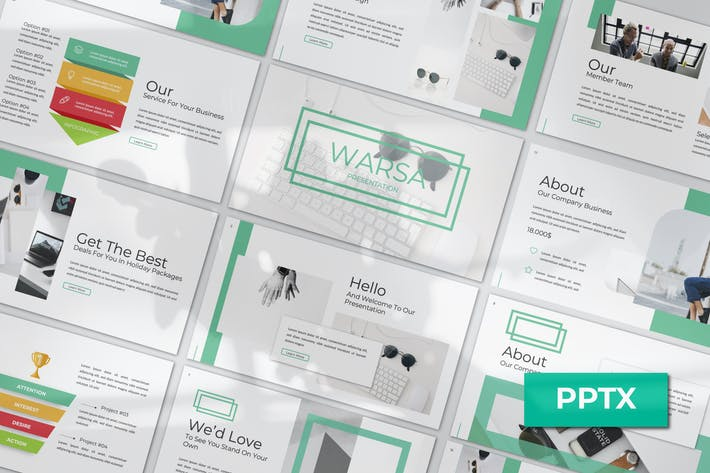 Cover Image For Warsa Powerpoint Template