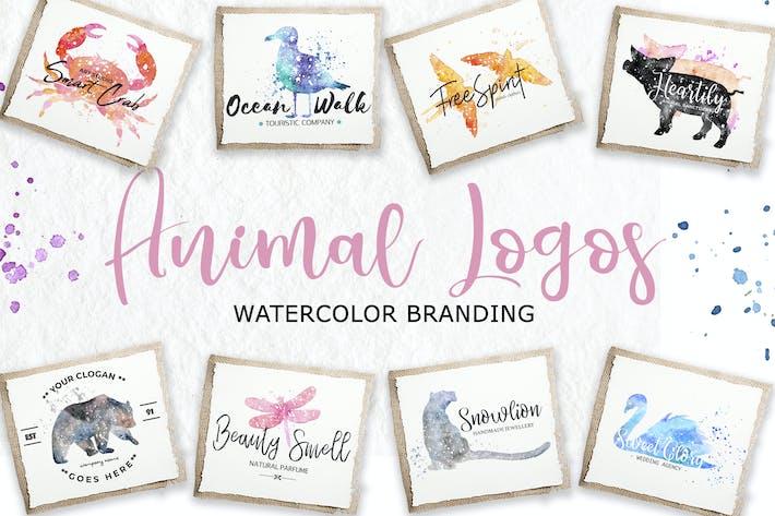 Thumbnail for Watercolor Animal Logos
