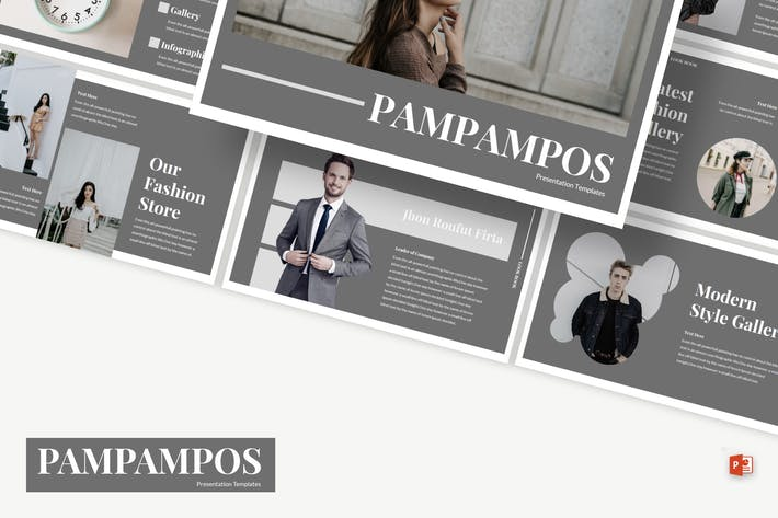 Thumbnail for Pampampos - Powerpoint Template